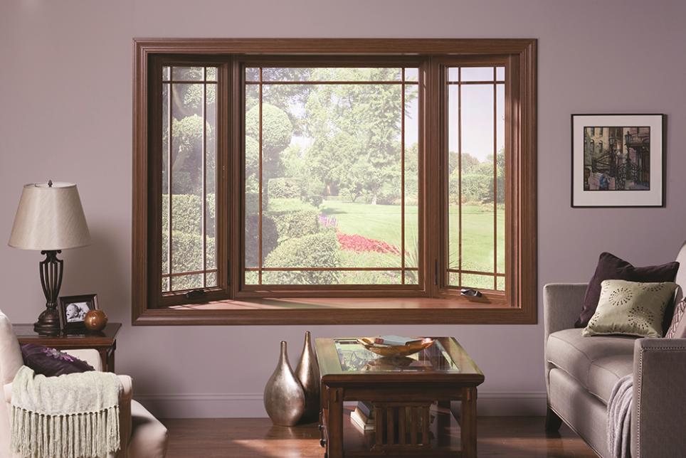 Modern fa ablak az Ön otthonába